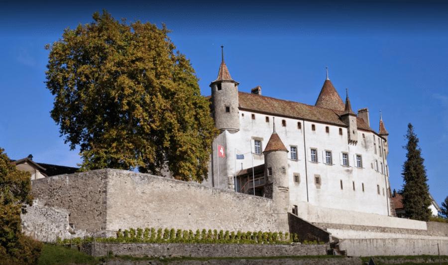 Le Château d'Oron