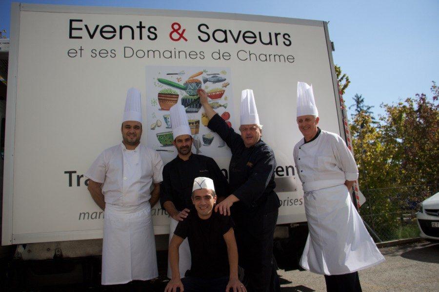 Events & saveurs, votre traiteur catering professionnel à Vaud