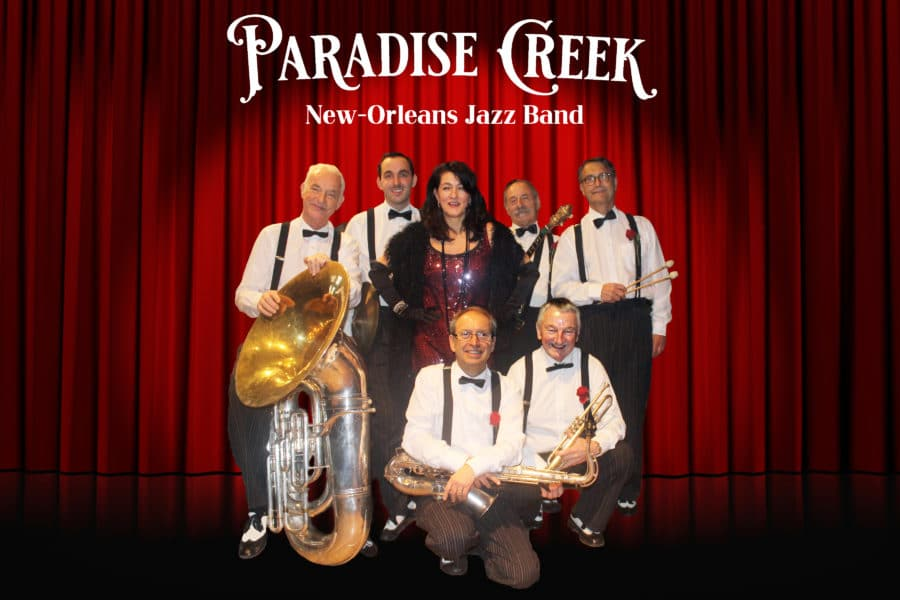 Brunch-concert à Romainmôtier dimanche 17.11.2019 avec le Paradise Creek New Orleans Jazz Band