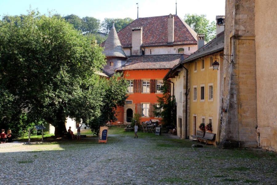 Maison du Prieur Romainmôtier